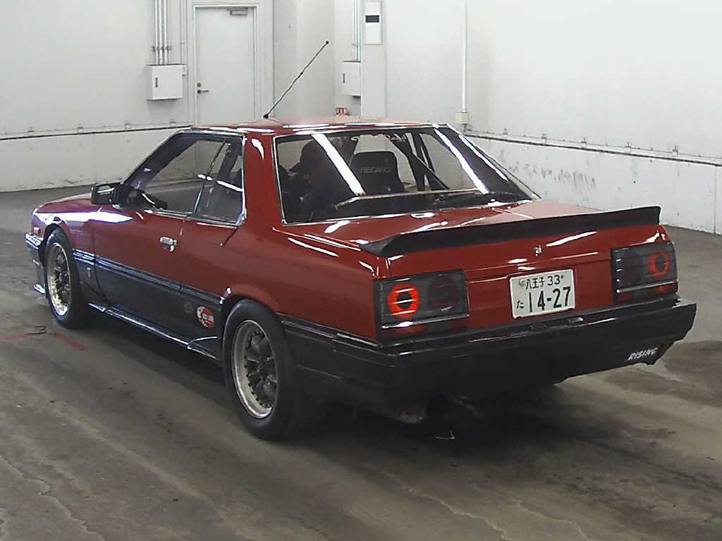 Car Of The Day 08 04 2013 R30 Nissan Skyline