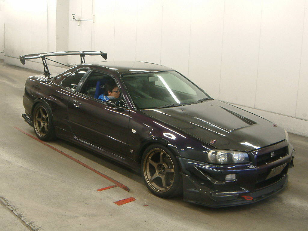car of the day 10 04 2013 r34 nissan skyline gtr jdmauctionwatch. Black Bedroom Furniture Sets. Home Design Ideas